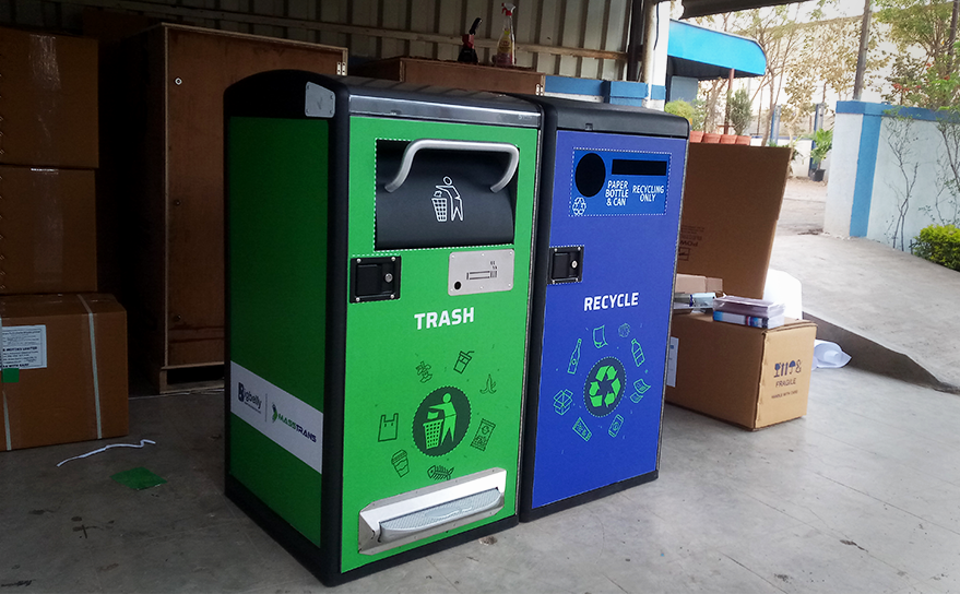 Smart solid waste collection system to assist you in keeping the city clean